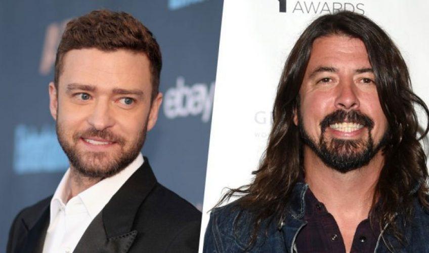 Ο Justin Timberlake συνεργάζεται με τους Foo Fighters για το νέο τους Album!
