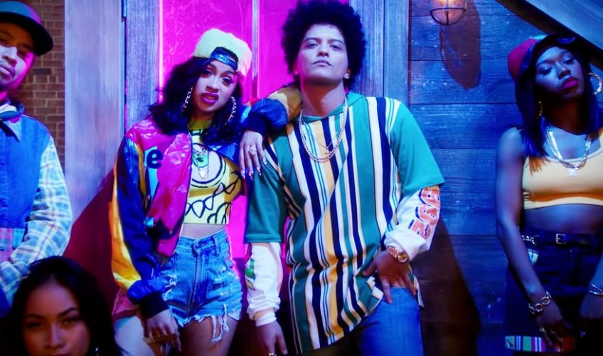 Bruno Mars και Cardi B ενώνουν δυνάμεις στο «Finesse»