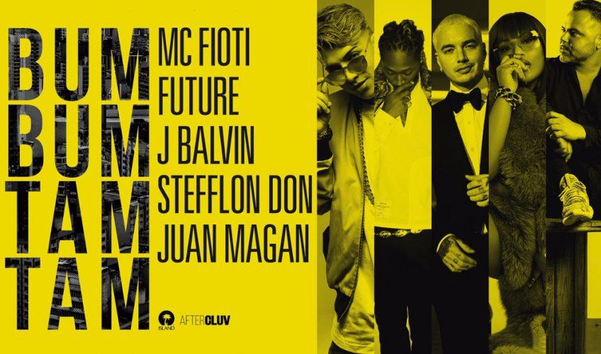 Μία συνεργασία – «φωτιά». Ο Future, ο J Bavin, η Stefllon Don και ο Juan Magán συναθροίζονται στο «Bum Bum Tam Tam» του MC Fioti