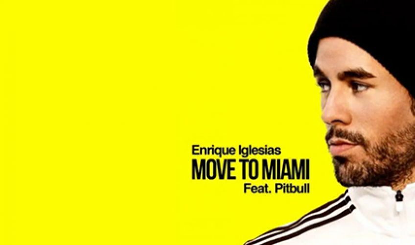"""Move To Miami"" … Με ένα track έκπληξη και λίγο πριν την εμφάνιση του στο αθηναϊκό κοινό ο Enrique Iglesias κυκλοφορεί ένα dance pop δυναμίτη."