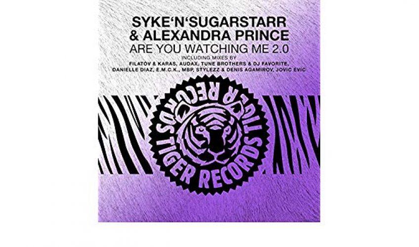 """Οι Syke'n'Sugarstarr σε συνεργασία με την Alexandra Prince, κυκλοφόρησαν την πρώτη Disco Dance εκτέλεση με τίτλο  """"Are You Watching Me""""."""
