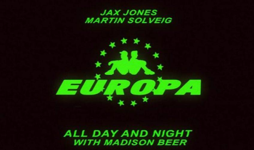 """Οι Europa μόλις κυκλοφόρησαν το ντεμπούτο single τους """"All Day And Night"""" με τη συμμετοχή του Αμερικανού σούπερ σταρ Madison Beer."""