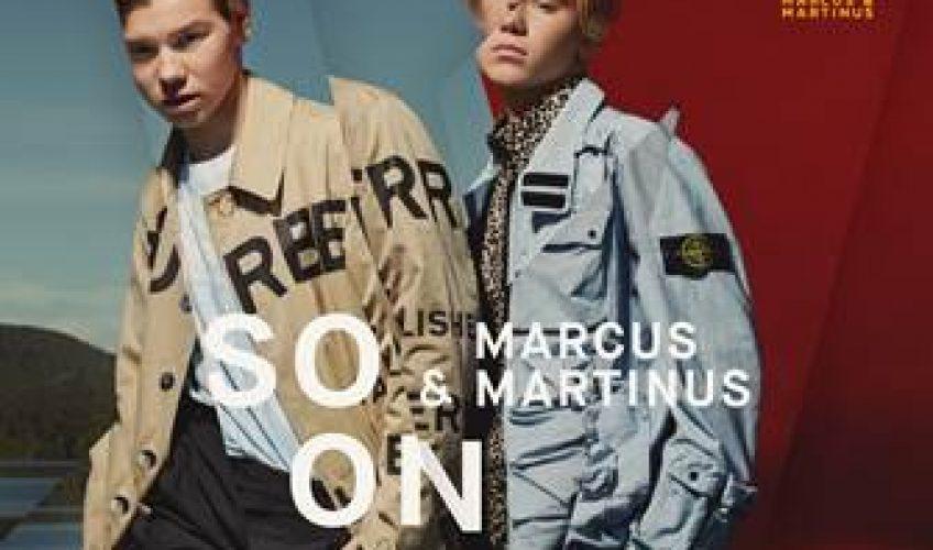 """Το 2019 βρίσκει το pop φαινόμενο από την Σκανδιναβία Marcus & Martinus να αποφοιτούν και να μεγαλώνουν, κυριολεκτικά και μεταφορικά. Μετά από πολλές ερωτήσεις από το τεράστιο και πολύ ενεργό fan club τους για το πότε θα ανακοινώσουν καινούρια μουσική και νέες συναυλίες τα δίδυμα αδέρφια απάντησαν με ένα αινιγματικό """"Soon""""."""