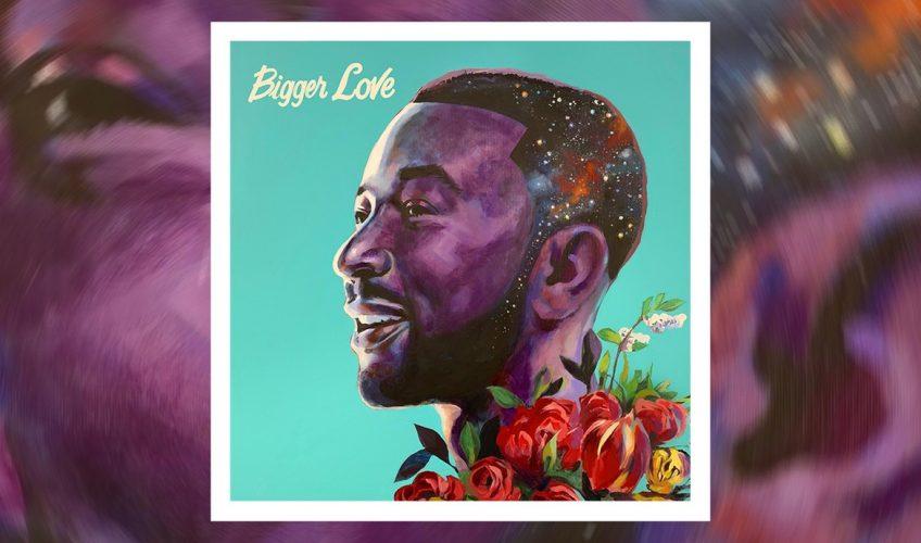 """Ο πολυπλατινένιος και 11 φορές βραβευμένος με Grammy, John Legend μόλις κυκλοφόρησε το νέο του album με τίτλο """"Bigger Love"""""""