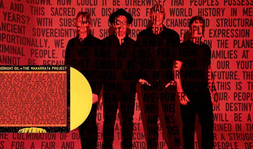 """Σχεδόν 20 χρόνια μετά την τελευταία τους ολοκληρωμένη κυκλοφορία, οι Midnight Oil παρουσιάζουν σήμερα το νέο τους mini-album. To """"The Makarrata Project""""."""